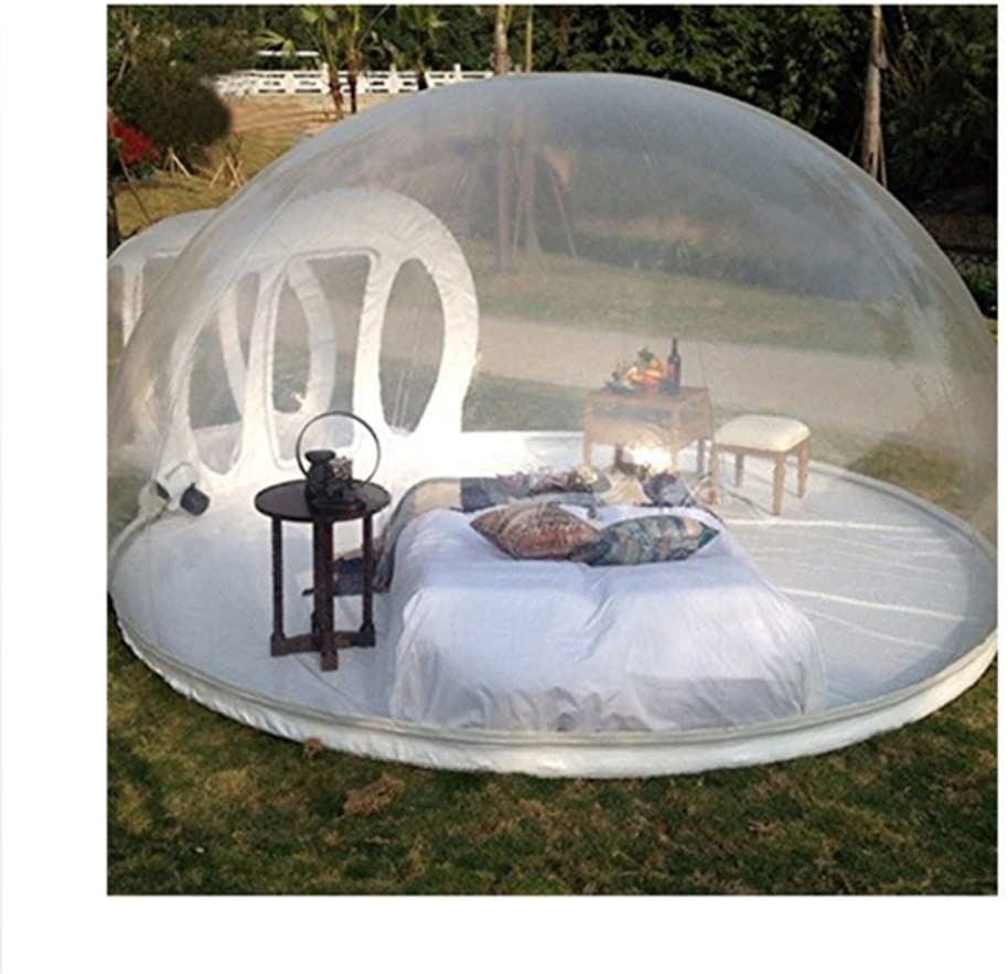 Outdoor Tunnel Backyard Transparent Air Dome Tent