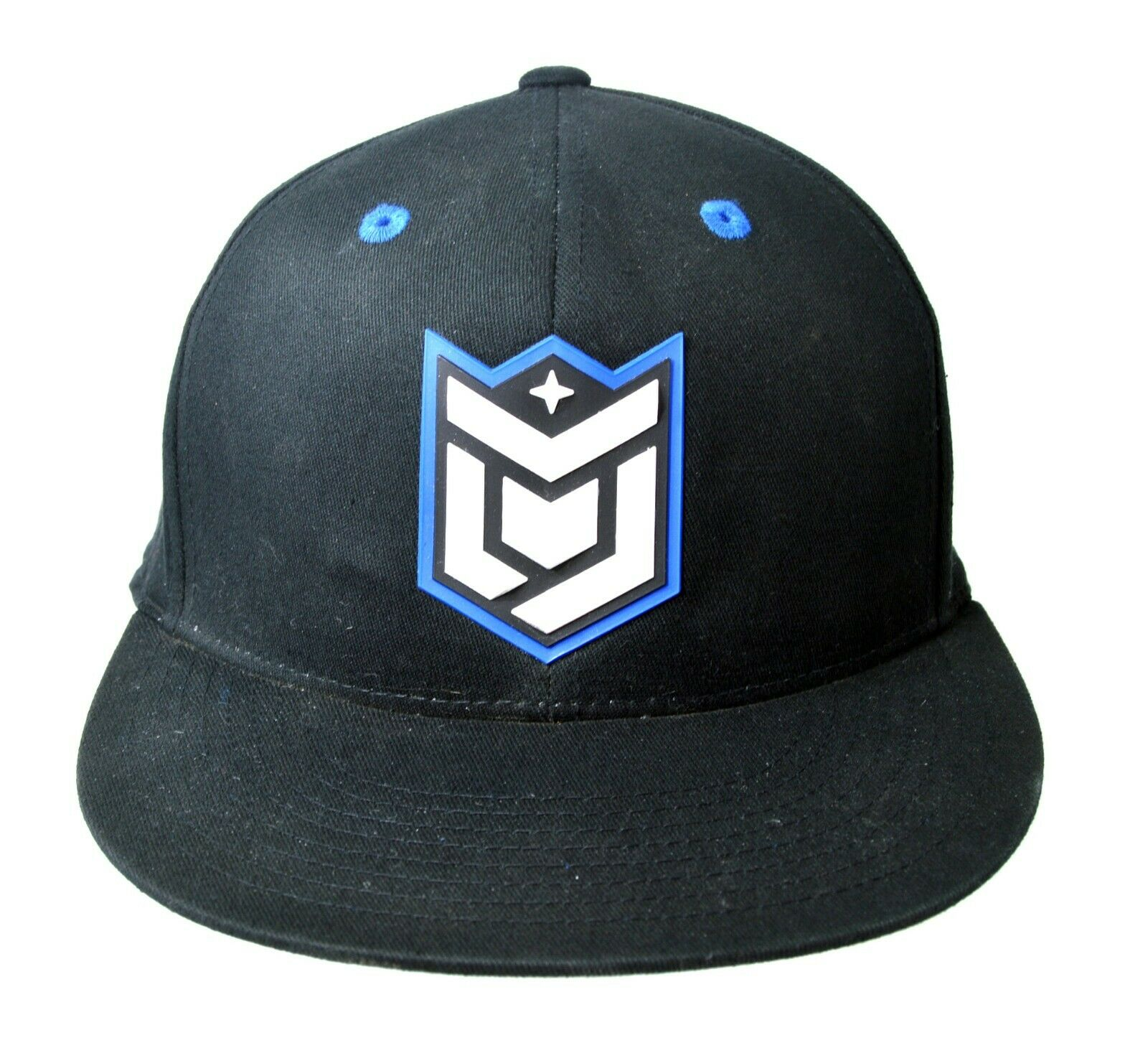 Dropstar Forged Stretch Fitted Hat 6 7/8 - 7 1/4 Blue and Black