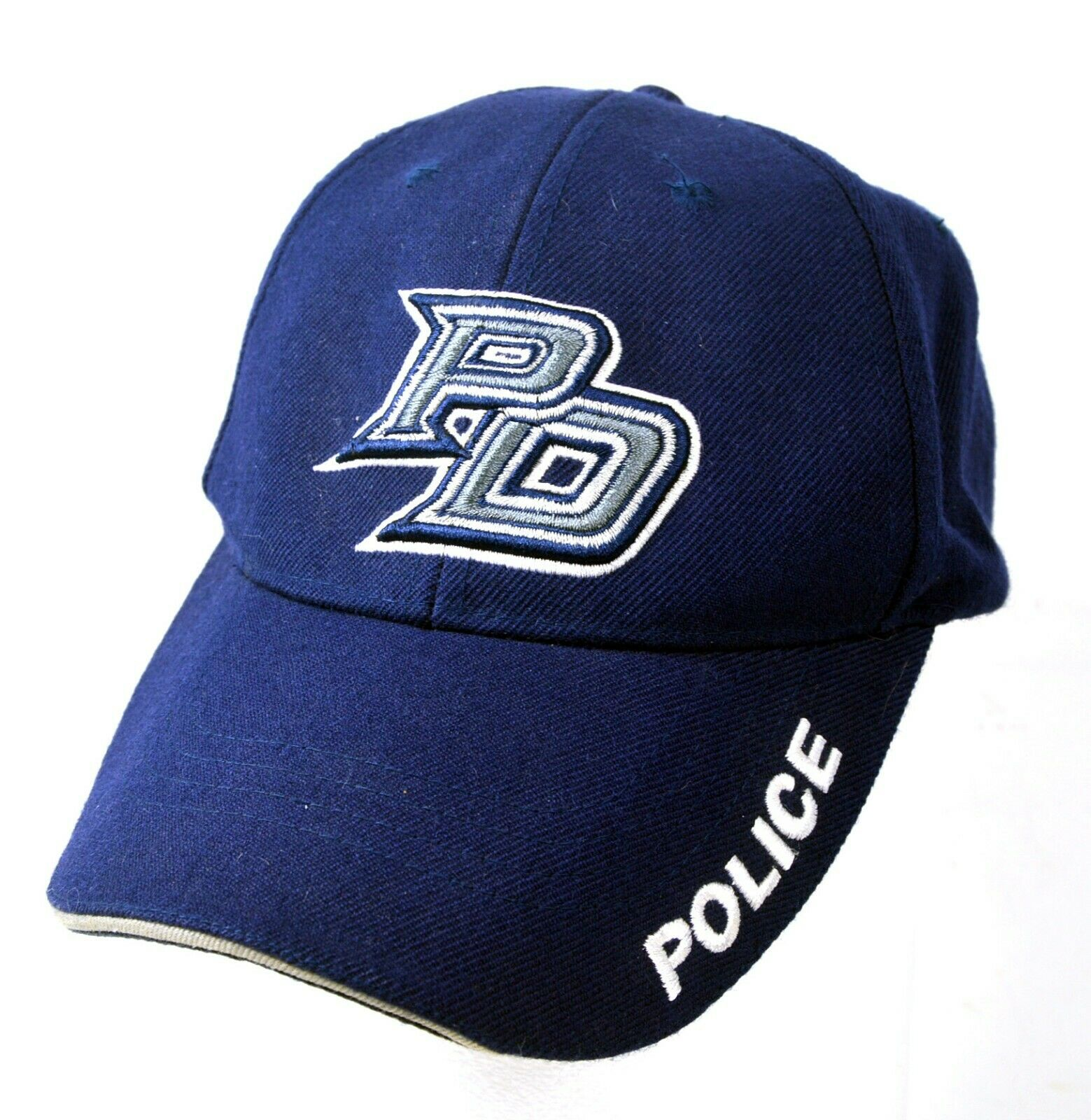 Police PD Hat - Adjustable Strapback OSFM - Blue