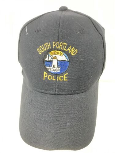 South Portland Police Navy Blue Adjustable Snapback Baseball Hat