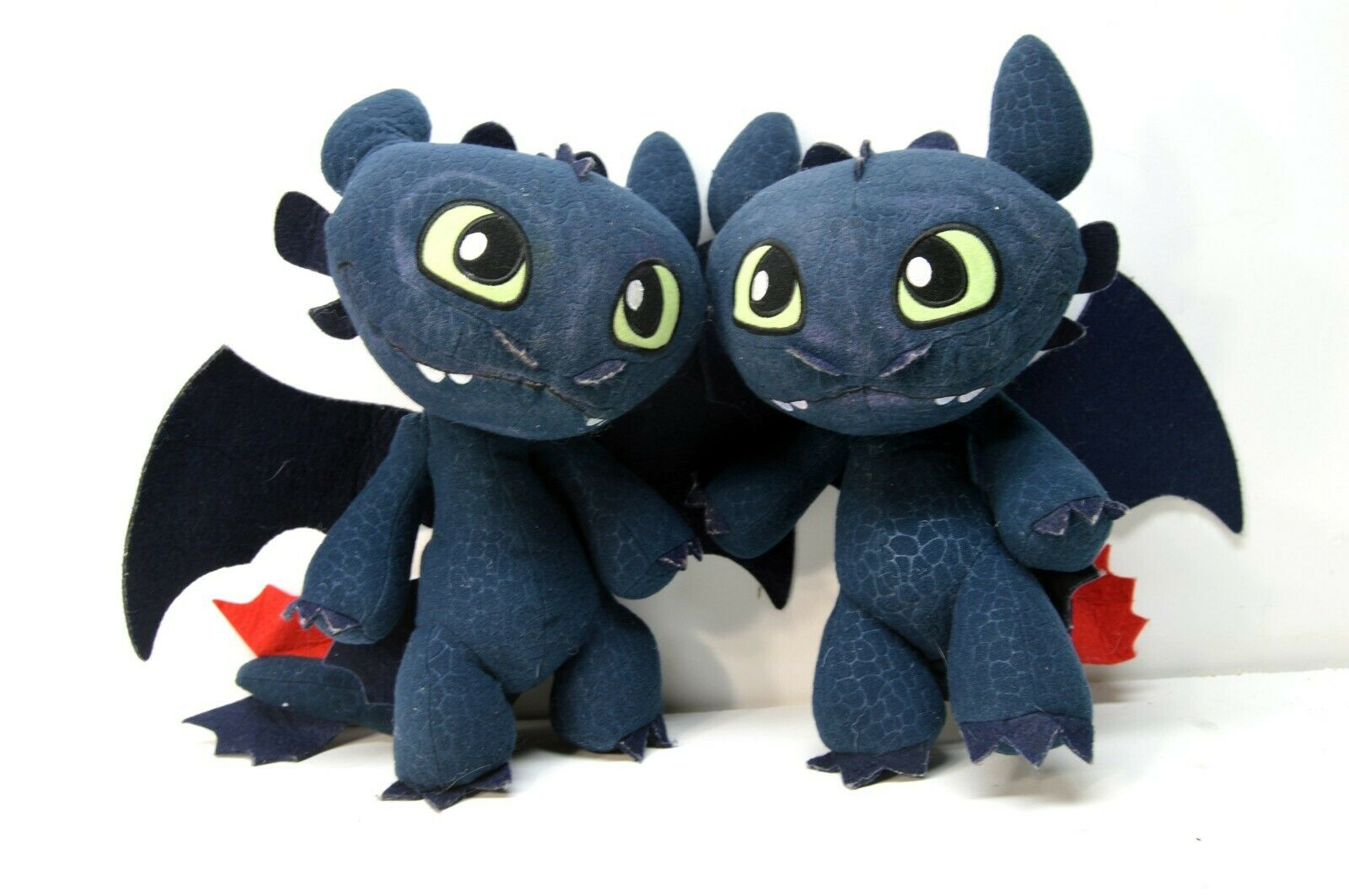 (2) TOOTHLESS How to Train Your Dragon Plush Stuffed Doll Soft Toys 12
