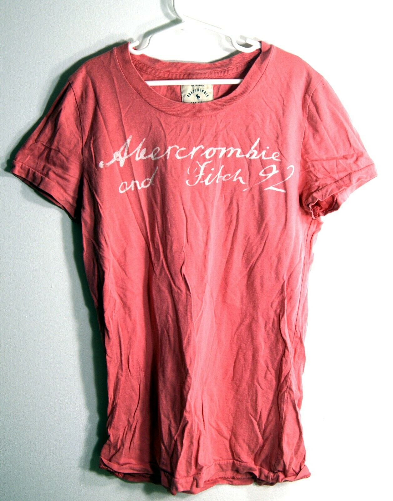 Abercrombie & Fitch Large Girl's Tshirt Pink Youth Size L Tee