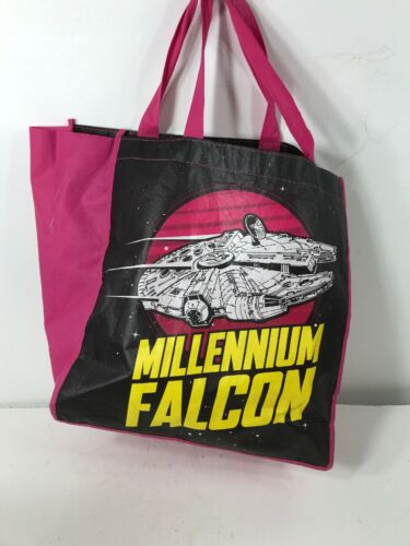 Star Wars Millenium Falcon Pink Reusable Bag